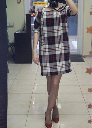 Платье в геометрический принт reserved1