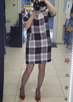 Платье в геометрический принт reserved2