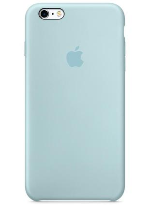 Чехол apple silicone case для iphone 6/6s мятный2