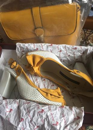 Босоножки с сумкой - комплект1