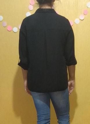 Черная рубашка (размер 12-14)4