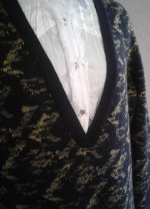 Очень теплый свитер -туника3