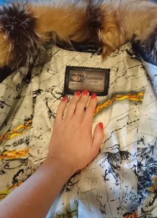 Кожанная куртка с натуральным мехом4