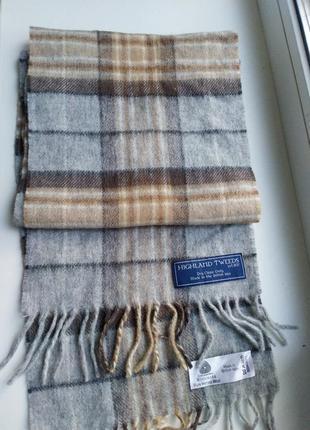 Шерстяной шарф1