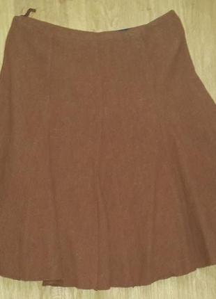 Шикарная юбочка из натуральной шерсти на 44-48 размер1