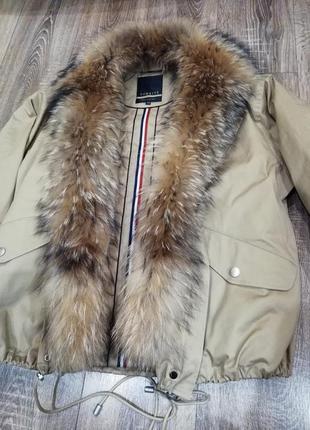 Зимняя куртка бомбер2
