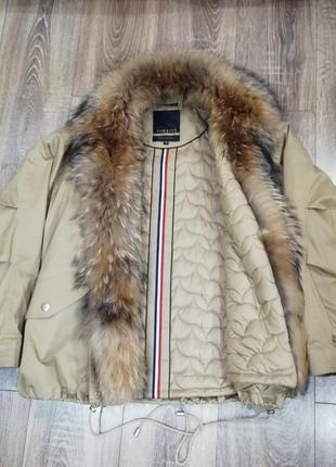 Зимняя куртка бомбер3