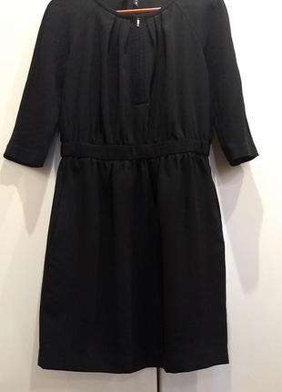Платье чёрное манго2