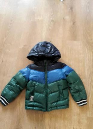 Куртка для хлопчика 18-24 міс. фірмова пуховик бенетон