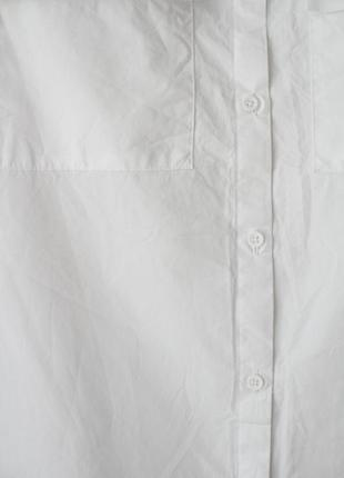 Крутейшая рубашка с открытыми плечами next • р-р l4