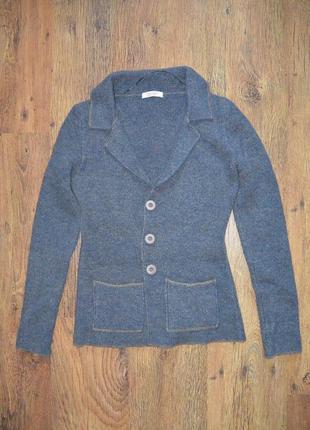 Теплая кофта пиджак жакет cocogio 6-8 (40-42)р.1