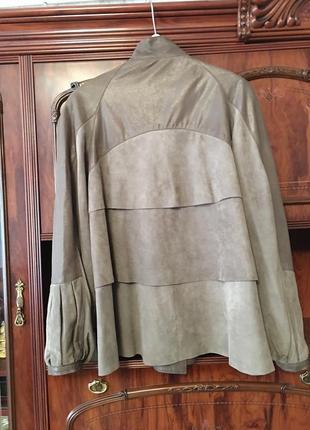 Куртка кожаная фирмы elibol, производство италия2