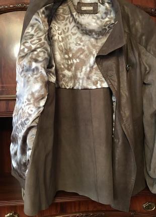 Куртка кожаная фирмы elibol, производство италия3
