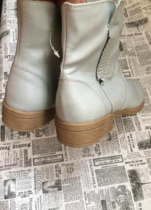 Крутые ботинки 37,38,39,40 р esmara3