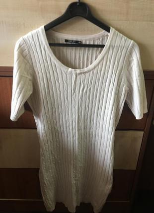 Платье свитер1