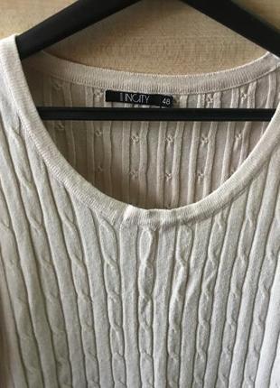 Платье свитер2