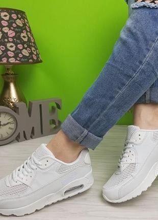 Кроссовки белые аирмаксы из польши распродажа 39 и 40-41р3