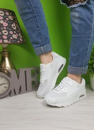 Кроссовки белые аирмаксы из польши распродажа 39 и 40-41р2