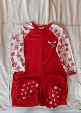 Новогодняя пижама secret кигуруми с сапожками раз.l-xl1