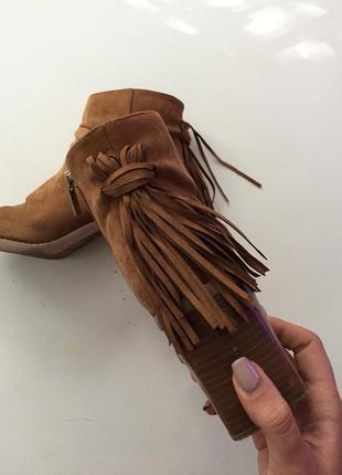 Замшевые ботинки осень-весна2