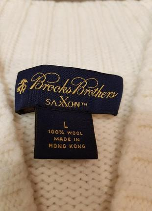 Brooks brothers saxxon кардиган свитер m-l шерсть2