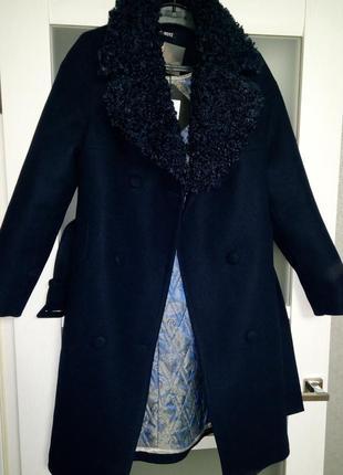 Новое зимнее качеств. пальто с сайта grand trend,мой пролет,46 р3