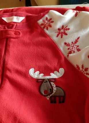 Новогодняя пижама secret кигуруми с сапожками раз.l-xl5