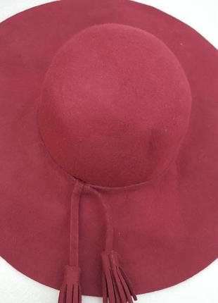 Шляпа шерстяная new look1