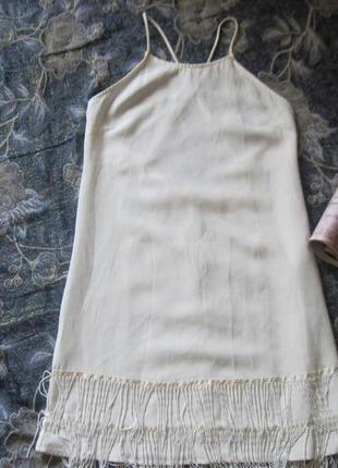 Новогодний наряд!коктейльное  платье с  бахромой в стиле великого гетсби за 199 грн!2