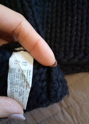 Очень теплый плотный свитер шерсть3