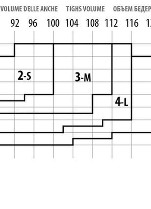 Колготки з узором імітацією колготы с узором имитацией / розмір 2, 42