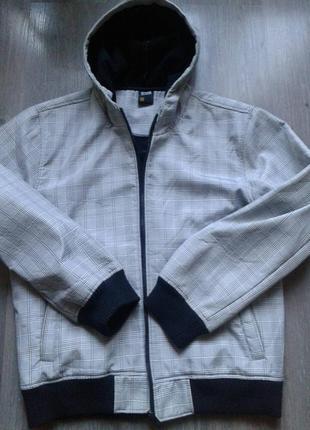 Красивая термо куртка на флисе.1