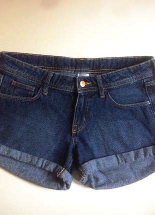 Шорти denim low waist by h&m,p.eur 38-40