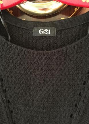 Черный свитерок -туника2