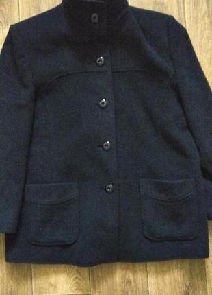 Пальто шерсть-кашемир