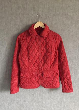 Крутая стеганая курточка barbour1