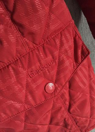 Крутая стеганая курточка barbour4