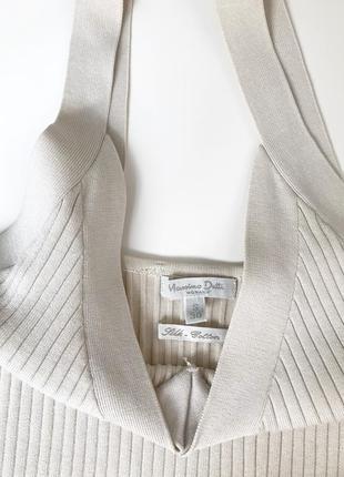 Massimo dutti оригинал стильная маячка шёлк и хлопок2