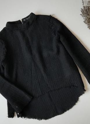 Твидовая кофточка, свитер от zara2