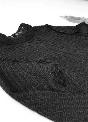 Твидовая кофточка, свитер от zara3