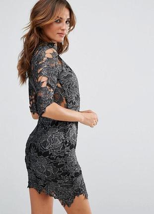 Новорічний розпродаж ! платьеиз кружевацвета металлик club l2