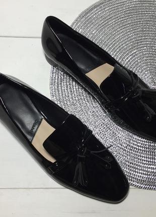 Туфли лоферы женские mango р-39 (25,5 см стелька)1