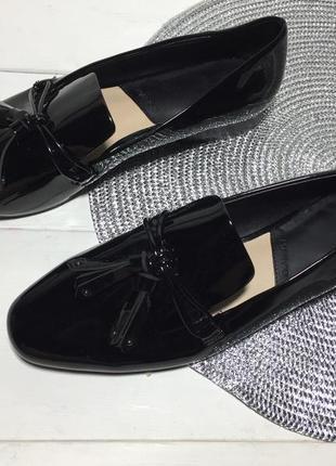 Туфли лоферы женские mango р-39 (25,5 см стелька)2