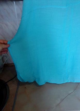 Креативная блуза разлетайка, открыт рукав на завязках, в сост вискоза, пог 86 поб 725