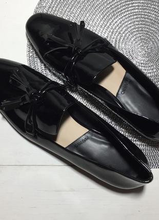 Туфли лоферы женские mango р-39 (25,5 см стелька)4