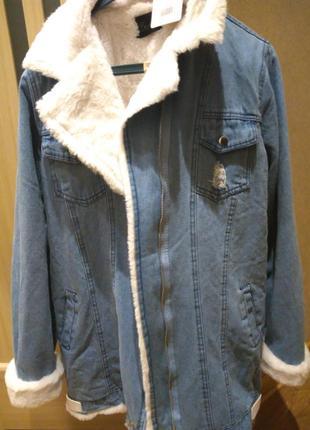 Джинсовая куртка1