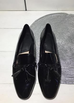 Туфли лоферы женские mango р-39 (25,5 см стелька)5