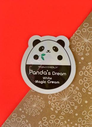 Осветляющий крем для лица tony moly panda's dream white magic cream1