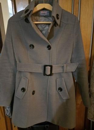Женское пальто утепленное2