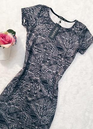 Шикарное новое платье миди s-m с биркой!3
